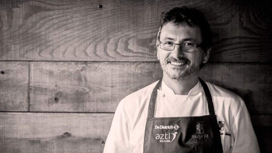 Charla por el chef internacional Andoni Aduriz en Guatemala   Marzo 2017
