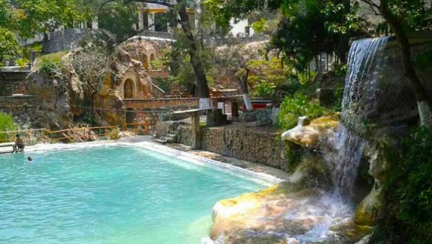 Balneario los chorros jalapa piscinas naturales que for Chorros para piscinas
