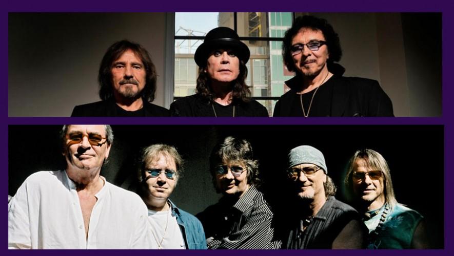 Tributo a Black Sabbath y Deep Purple, Black and Purple | Mayo 2017