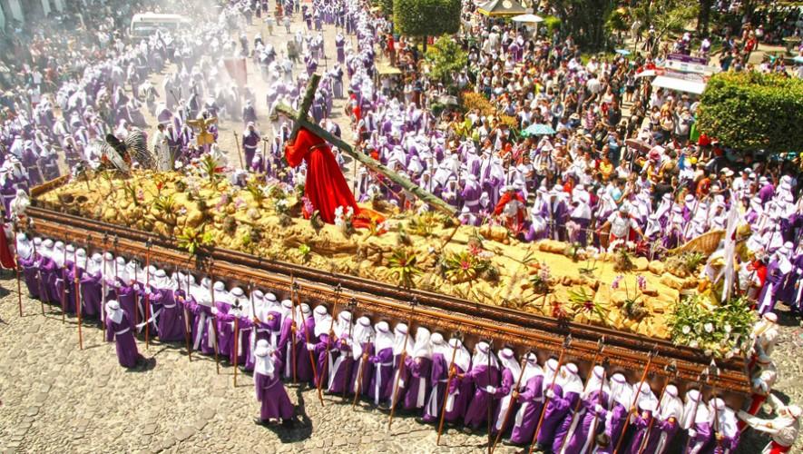 La Semana Mayor en Antigua Guatemala es una de las más grandes tradiciones del país. (Foto: Luis Toribio)