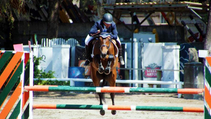 Con esta victoria, Sueiras lidera el ranking y la selectiva de la prueba completa para el Festival Centroamericano. (Foto: Prensa ANEG)