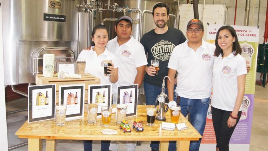 Cerveza artesanal en Antigua Guatemala