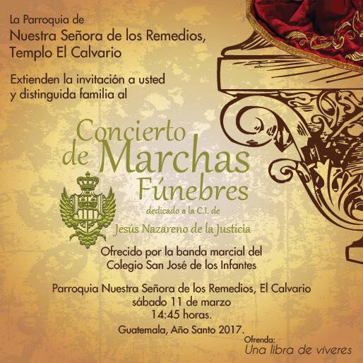 Concierto de Manchas Fúnebres