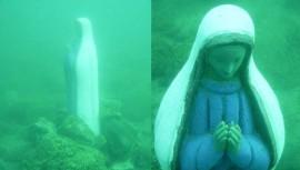 Conoce la historia de la Virgen hundida en el Lago de Atitlán