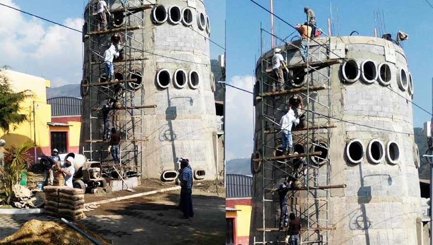 Construyen planetario en el municipio de San Miguel Dueñas, Guatemala
