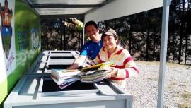 Crean 6 nuevas estaciones de reciclaje al aire libre en la Ciudad de Guatemala
