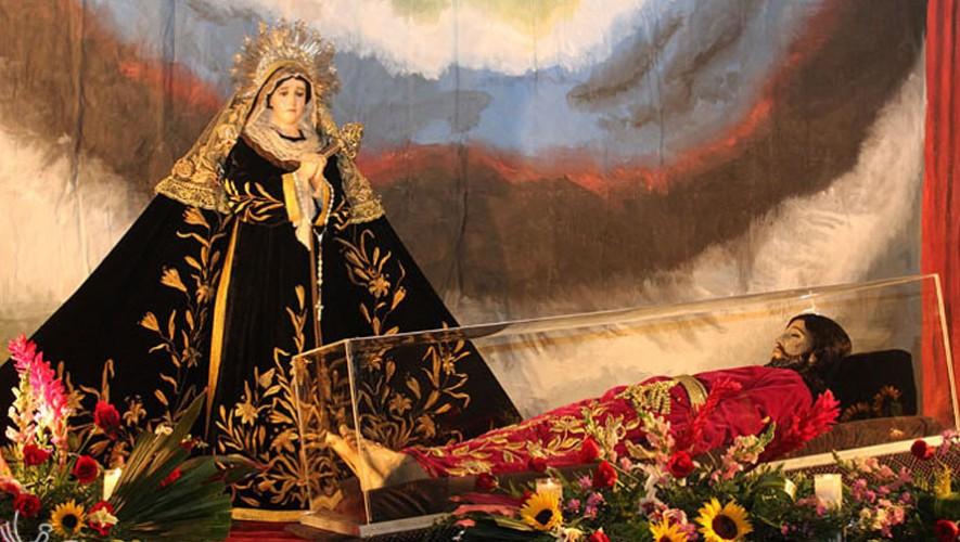 Procesión del Cristo Yacente en la Ciudad de Guatemala | Semana Santa 2017