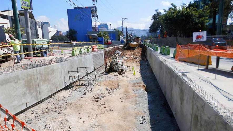 Cuáles son los pasos a desnivel que realizará la Municipalidad de Guatemala en 2017