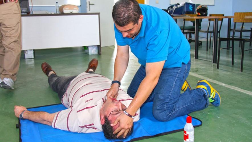 Curso gratuito de Primeros Auxilios en Ciudad de Guatemala | Marzo 2017