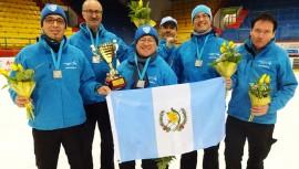 """La quinteta """"chapina"""" sorprendió a todos los equipos europeos al adjudicarse la plata en el Campeonato. (Foto: Cortesía de Juan Luis Gutiérrez Cordero)"""