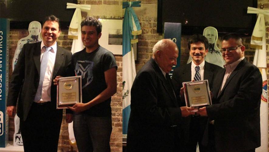 Estudiantes guatemaltecos fueron reconocidos con el Premio Universitario ESET