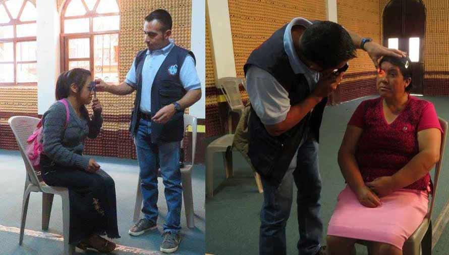 Examen de la vista gratuito en la Ciudad de Guatemala en marzo 2017