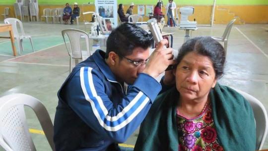 Examen de oídos gratis en Guatemala en marzo 2017