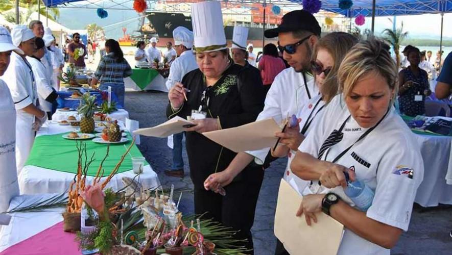 Festival Gastronómico en el Castillo de San Felipe de Lara Guatemala