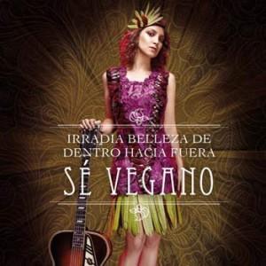Gaby Moreno, ganadora del Grammy Latino lució un vestido de vegetales para PETA 2017