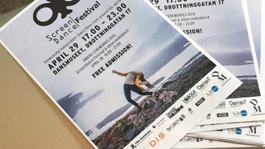 Guatemalteco participa en el ScreenDance Festival en Stockholm