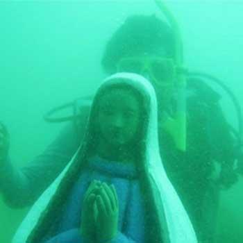 Historia de la Virgen hundida en el Lago de Atitlán