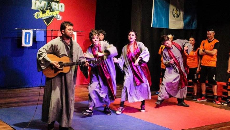 Show de Improvisación y Comedia en Ciudad de Guatemala | Marzo 2017