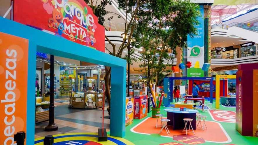 Inauguran la zona temportal de Metta en la Ciudad de Guatemala
