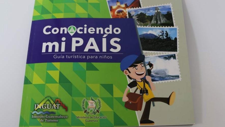 Inguat entrega nueva guía turística para niños 2017 al Ministerio de Educación