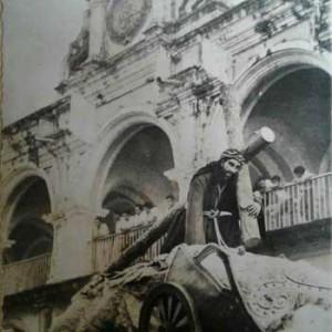 Jesús Nazareno de la Caída de San Bartolomé Becerra Antigua Guatemala