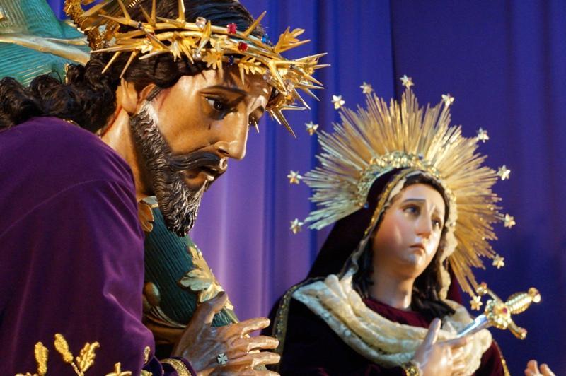 Jesús del Rescate y Virgen de Dolores