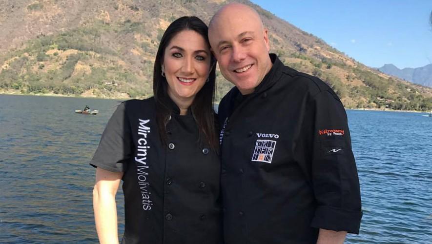 Jorge Rausch de Master Chef se encuentra en Guatemala 2017