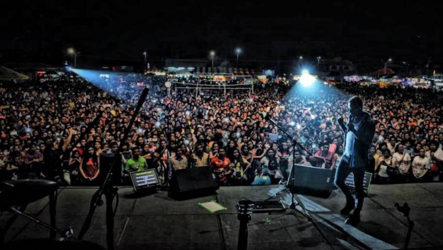 Kalimba ofreció un concierto en San Marcos, Guatemala