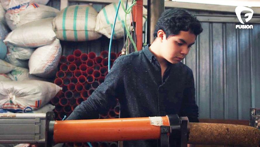 Ken Lou, reconocido inventor guatemalteco del leño ecológico