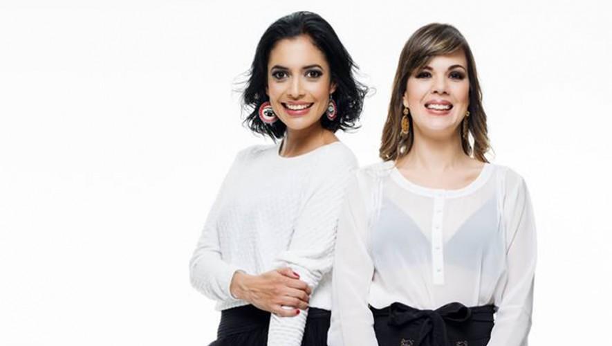 Cecilia Díaz y Andrea Segovia de La Multicolor en Guatemala.
