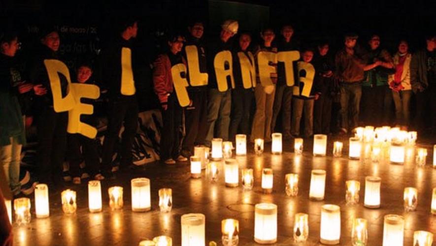 La Hora del Planeta en Ciudad de Guatemala   Marzo 2017
