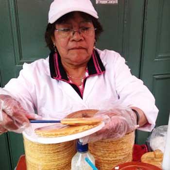 Las obleas en Guatemala