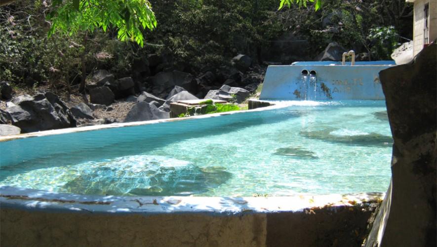 Los chorros de pepe milla jutiapa piscinas naturales for Chorros para piscinas