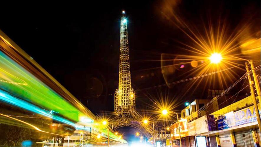 Ciudad de Guatemala de noche