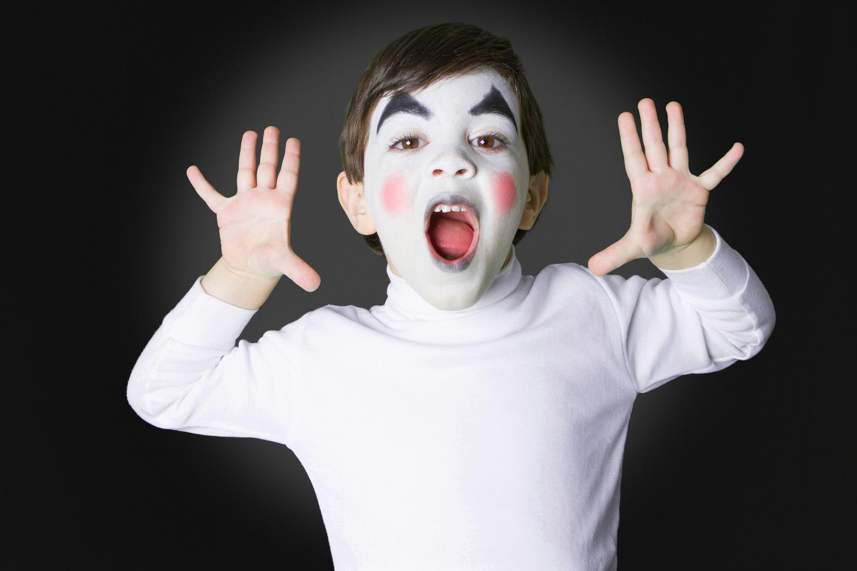 Niños en teatro
