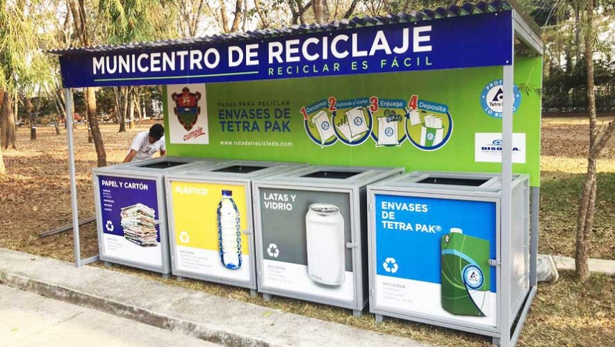 Nuevas estaciones de reciclaje en Guatemala