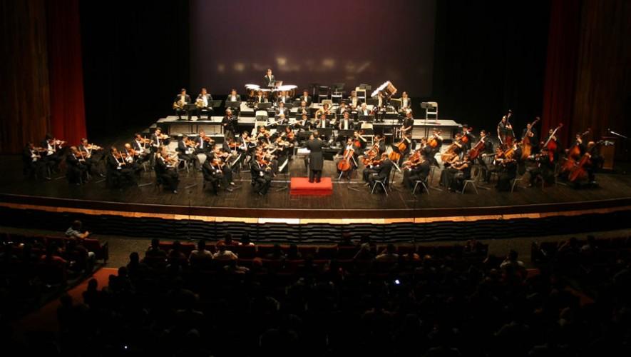 IV Concierto de la Orquesta Sinfónica Nacional de Guatemala | Abril 2017