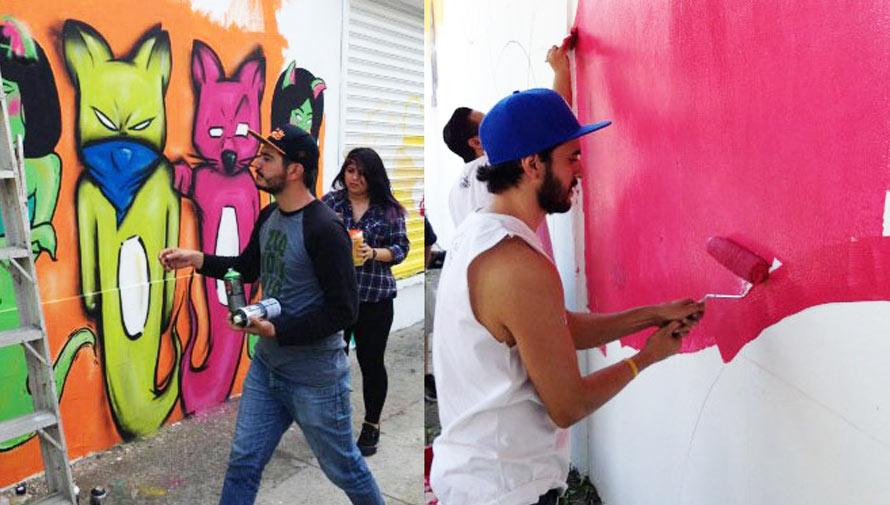 Participa en el Festival de Murales Bonito mi Barrio 2017 en la Ciudad de Guatemala