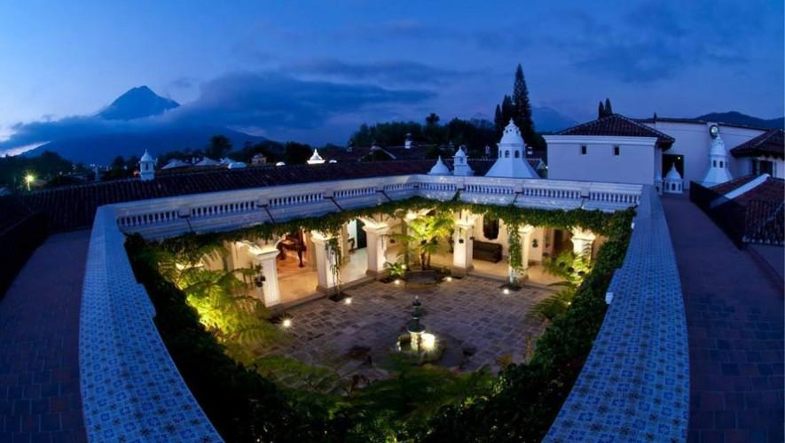 Pensativo House Hotel, uno de los hoteles ecológicos más lujosos de Antigua Guatemala