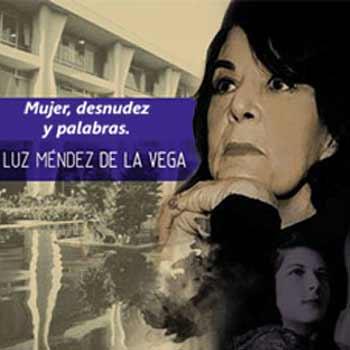 Poeta guatemalteca Luz Méndez de la Vega