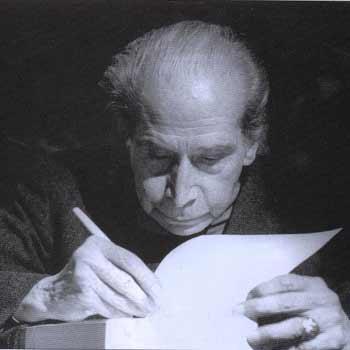 Poeta guatemalteco Luis Cardoza y Aragón
