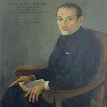Poeta guatemalteco Rafael Landívar