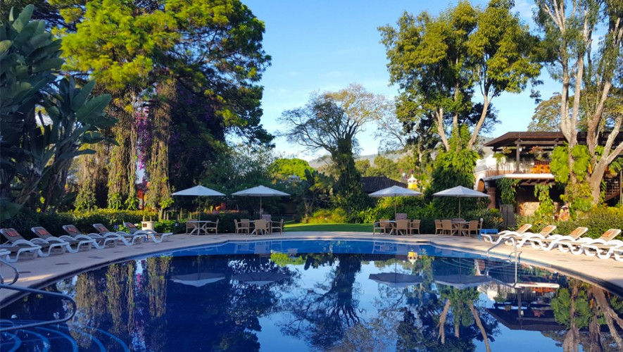 Porta Hotel Antigua Guatemala Hoteles Con Piscina En