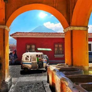 Tuc Tuc en Antigua Guatemala