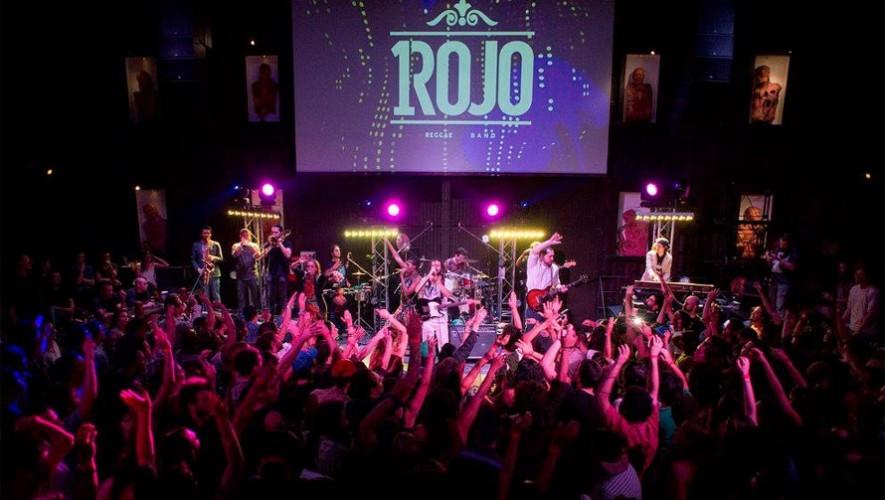 Concierto de Un Rojo en Guatemala   Junio 2017