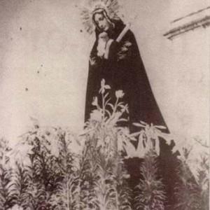 Virgen María del templo de la Escuela de Cristo Antigua Guatemala
