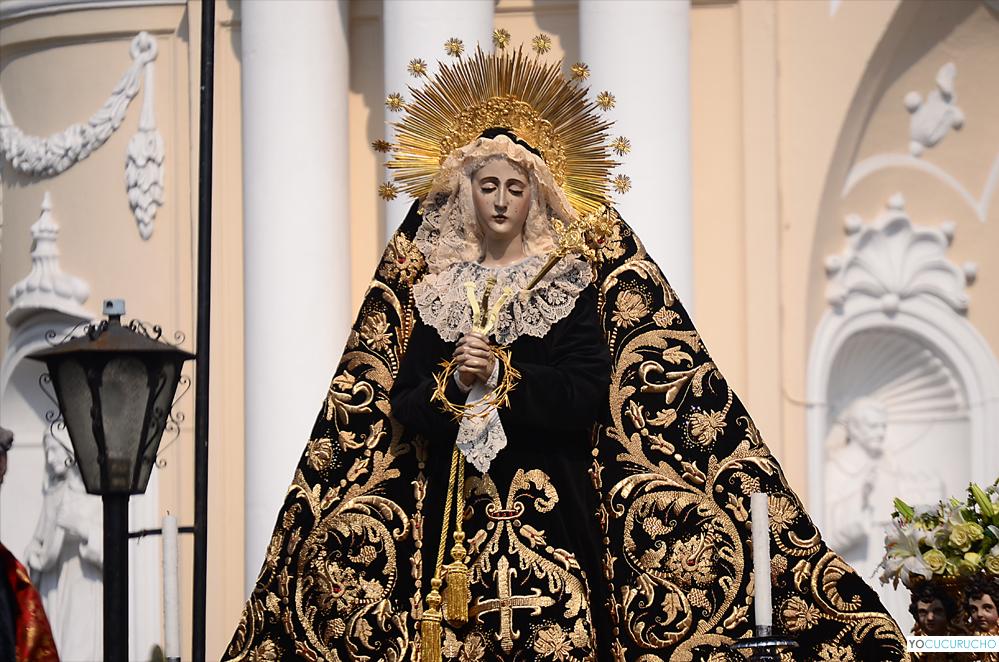 Virgen de Soledad Santo Domingo