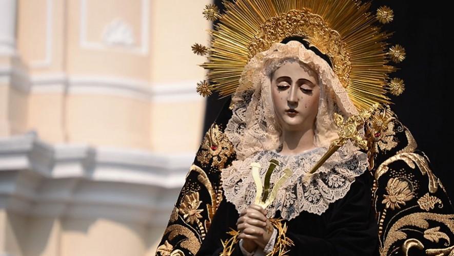 Procesión de Pésame Virgen de Soledad, Santo Domingo | Semana Santa 2017