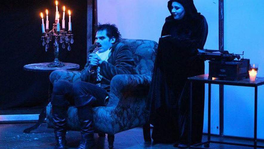 """Obra de teatro """"El Cuervo"""" de Edgar Allan Poe en Teatro Dick Smith   Abril 2017"""