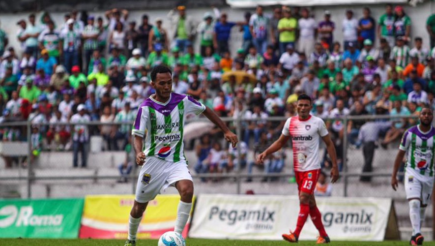 Partido de Antigua vs Mictlán por el Torneo Clausura   Marzo 2017